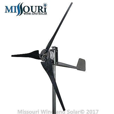 DC output Confederate 700 watt 3 blade 12 volt home wind turbine high wind