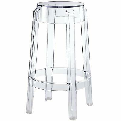 Dining Room Office Bar Stool - Set Of 2/4 Bar Stool GHOST Chair Starck Seats Dining Living Room Hotel Office