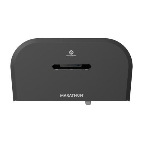 Marathon 2-Roll Jumbo Toilet Paper Dispenser, Smoke