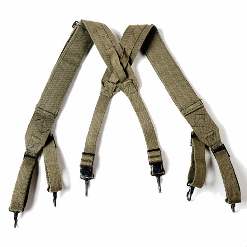 Korea War US Army M1945 Suspenders Strap Carrying Sling
