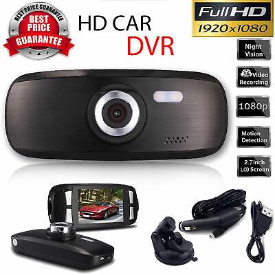 """G1W Black Box Original Dashboard Dash Cam - Full HD 1080P H.264 2.7"""" LCD Car USA"""