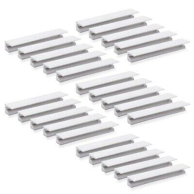 Emuca 9162962 Furniture handle, CC 64mm, aluminium, matt anodized, Set of 25 ...