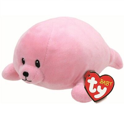 Ty Beanie Babies 32159 Doodles the Pink Baby Seal