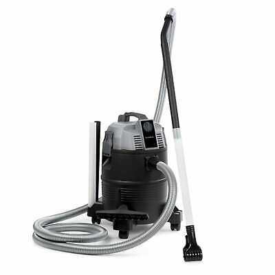 Pond Vacuum Cleaner Wet Dry Vac Floor Cleaner Home Pool Mud 1400 W 35L Tank Grey