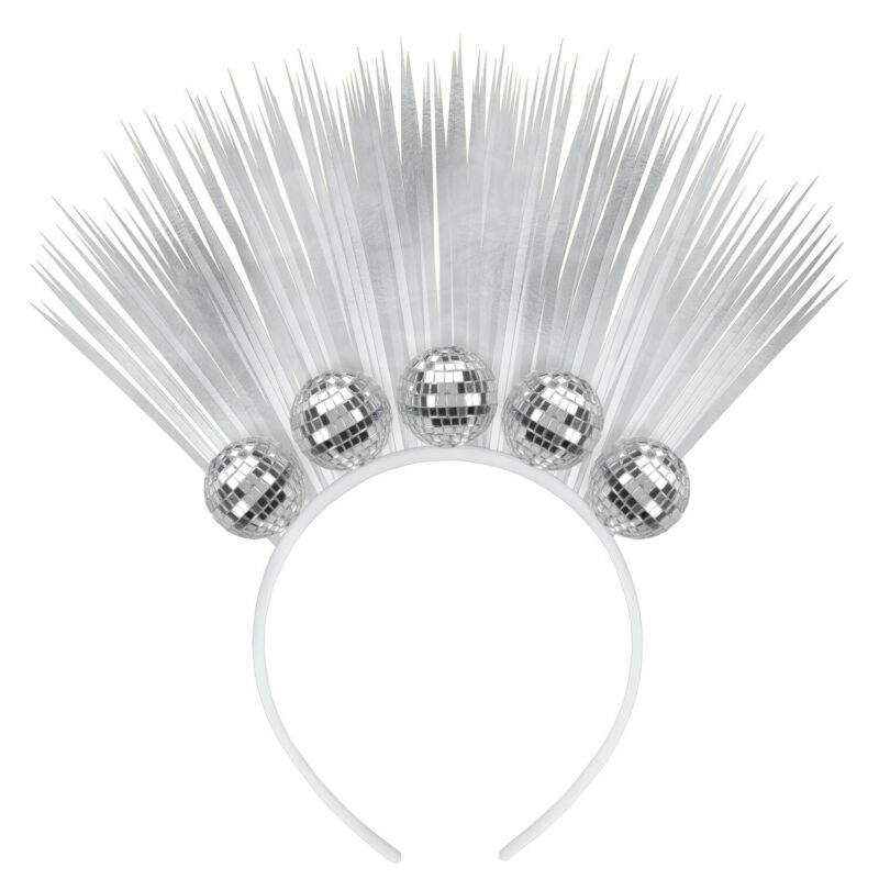Amscan 6: Disco Ball Drop Headbands