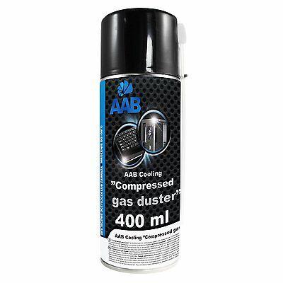 AAB Cooling Druckluftspray 400 ml Air Duster Reinigung Druckluftreiniger 2xRuhr