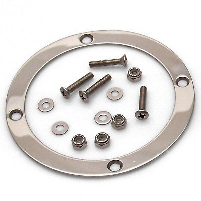 Round Shift Boot Trim Ring with Hardware american shifter ASCTR101 street -