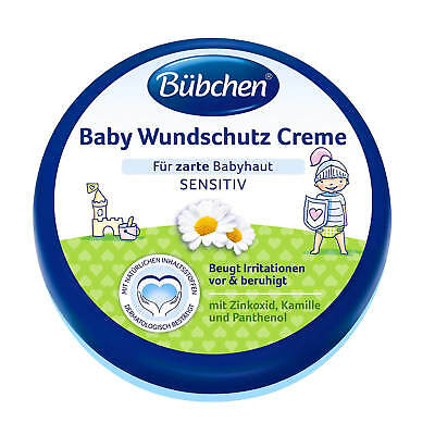 (32,93€/L) 150ml Bübchen Baby Wundschutz Creme mit Sonnenblumenöl und Kamille