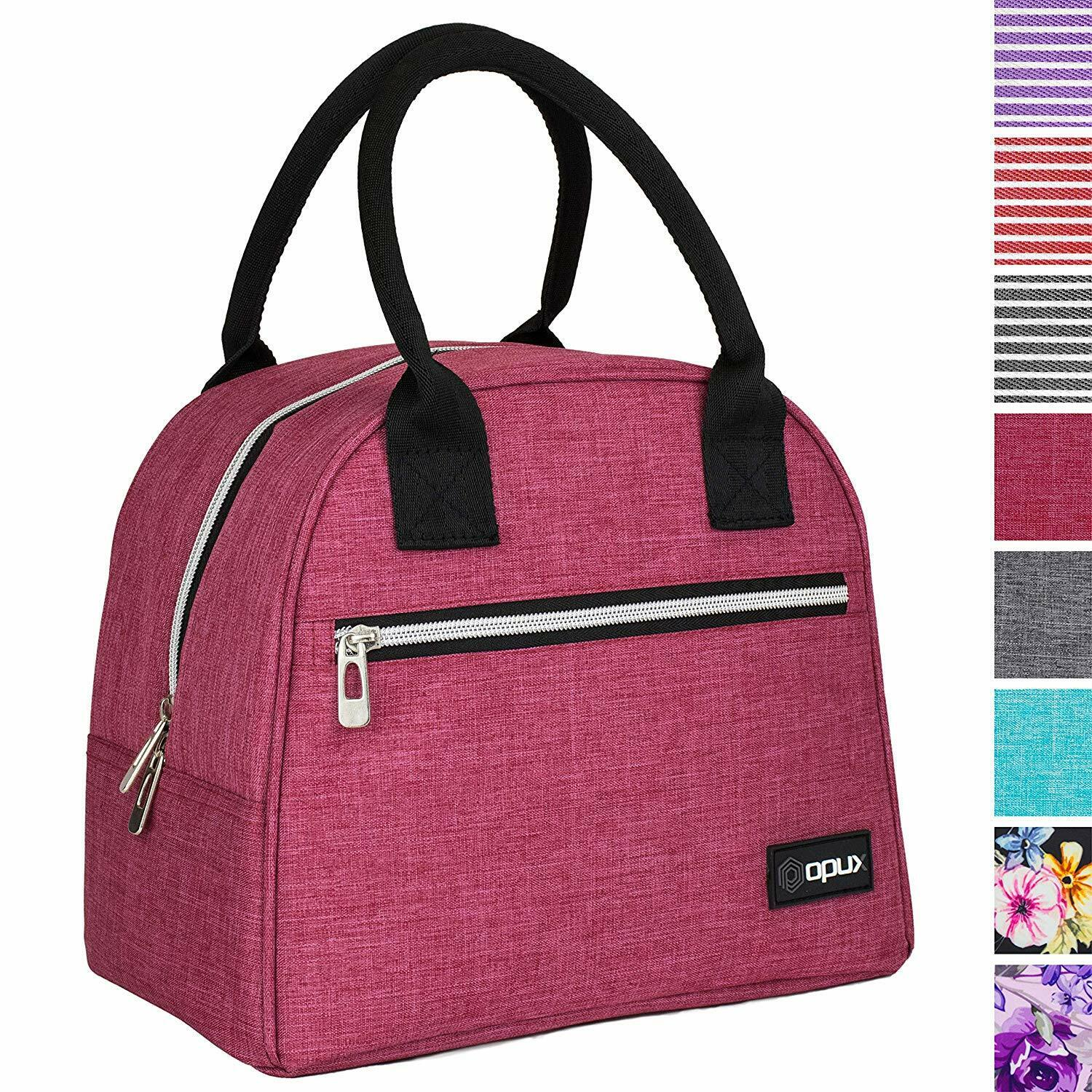 OPUX Lunch Bag for Women | Insulated Lunch Tote, Reusable So