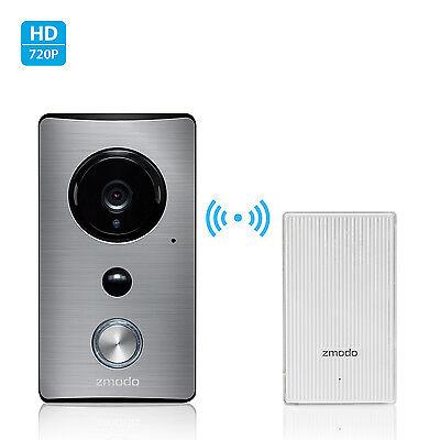 Купить Zmodo - Zmodo Greet WiFi Video Doorbell with Zmodo Beam Smart Home Hub and WiFi Extender