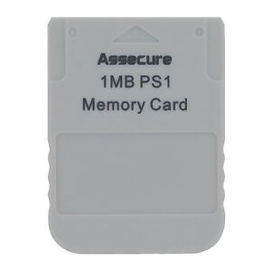 Memory-Card-1MB-for-PS1-Playstation-One-1-PSX-PSone-PSX-PS2-compatible-Grey