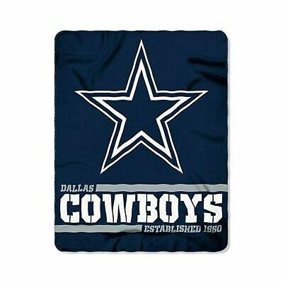 New Football Dallas Cowboys Fleece blanket Split Soft Throw 50
