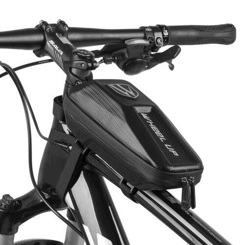 Waterproof EVA Bike Top Tube Bag Bicycle Cycling Front Frame Phone Holder Case