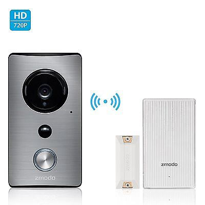 Zmodo Greet WiFi Video Doorbell with Zmodo Beam Smart Home Hub and WiFi Extender