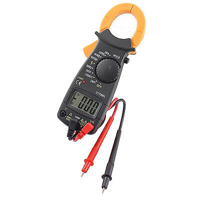 Lcd Acdc Electronic Tester Clamp Volt Meter Multimeter 600v Current Resistance