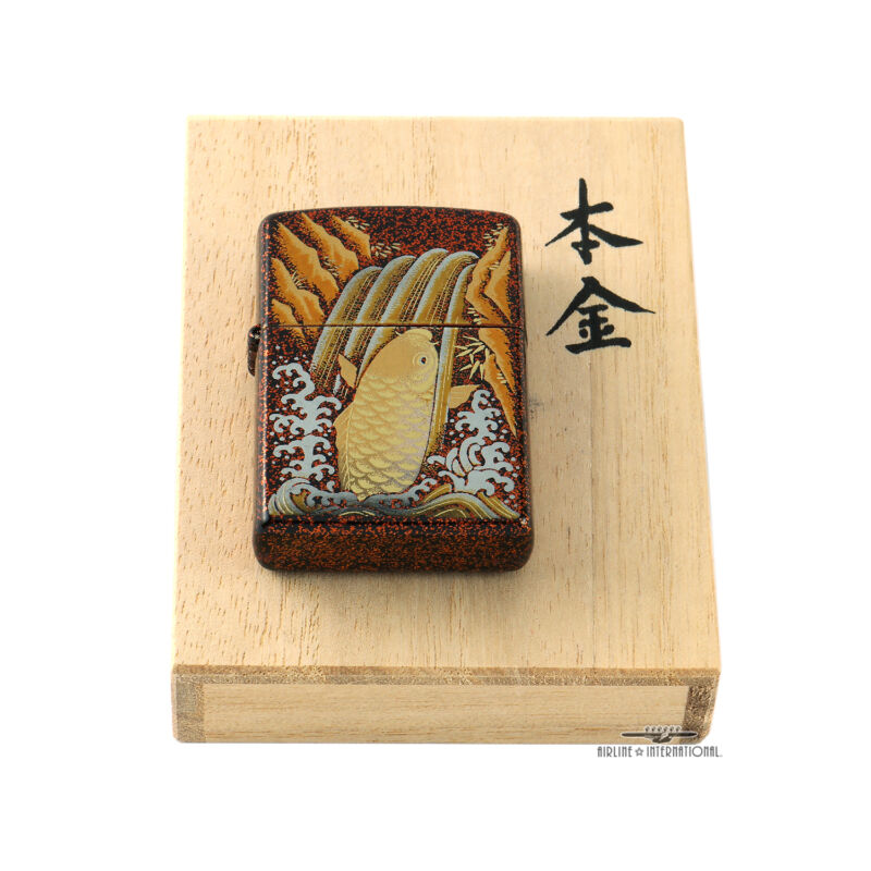 Zippo Limited Edition Maki-e Koi Lighter