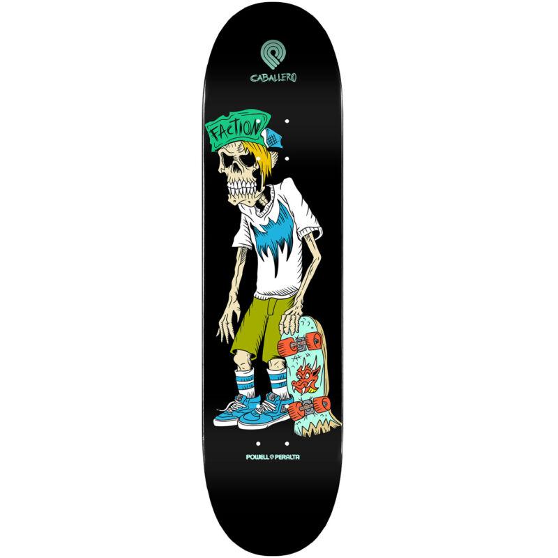 """Powell Peralta Skateboard Deck Caballero Faction 8.25"""" x 31.95"""""""