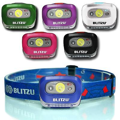 BLITZU Headlamp LED Flashlight Camping Headlamp Headband For Adults & - Kids Headlamp