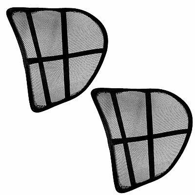2x Rückenstütze | Lordosenstütze | Lendenwirbelstütze Stuhl Auto | Stütze Rücken (Lordosenstütze)