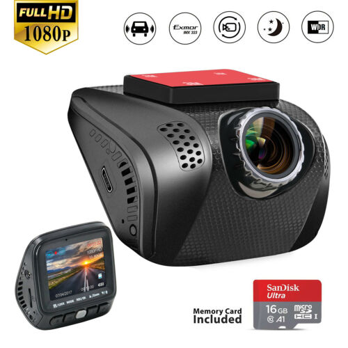Acumen 1080p Dash Cam Dashboard Camera Recorder Dashcam with Sony Exmor Sensor