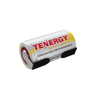 Tenergy SubC 2200mAh 1.2V NiCd Batteries Cell For PowerTools Replacement w/ Tabs