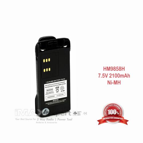New 2100mAh NTN9858 NTN9815 Ni-MH Battery for MOTOROLA XTS1500 XTS2500 Radio