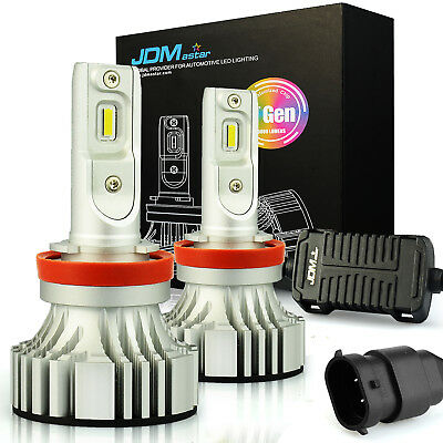 JDM ASTAR 7TH 8000LM H11 LED Headlight Low Beam Bulbs Xenon White Fog Light DRL