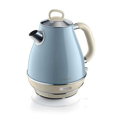Ariete Retro Style Electric 1.7L Jug Kettle, Vintage Design, Blue