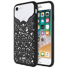 Kate Spade New York Fitted Hardshell Case iPhone 8 Black Clear KSIPH-074-LCBK-FR