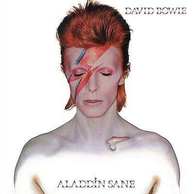 DAVID BOWIE ALADDIN SANE 180 GRAM VINYL LP ALBUM (2013 Remaster) Released 2016