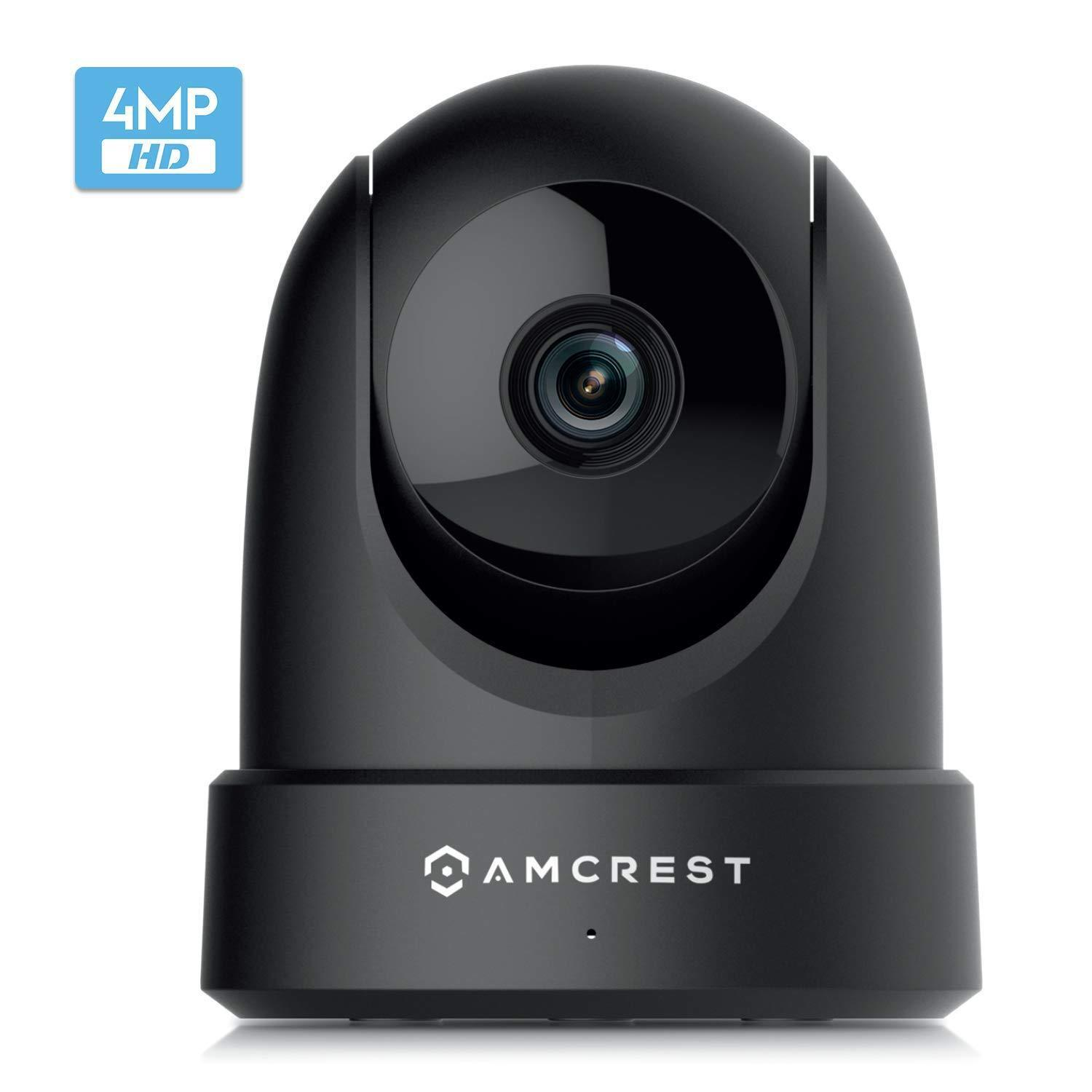 4mp ultrahd indoor wifi security ip camera