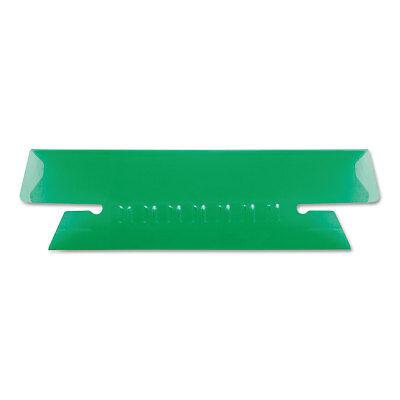 Pendaflex Hanging File Folder Tabs 13 Tab 3 12 Inch Green Tabwhite Insert 25