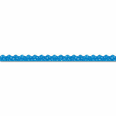 Trend Terrific Trimmers Sparkle Border 2 14 X 39 Panels Blue 10set T91413