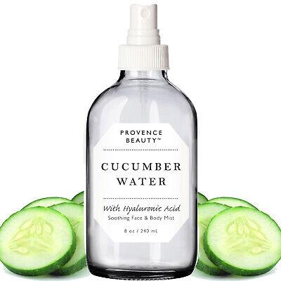 Provence Beauty Face & Body Mist - Cucumber Water & Moisturizing Hyaluronic Acid