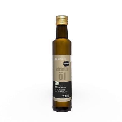 51,52€/l Wohltuer Bio Rizinusöl Haut Essentiellen Omega-Fettsäuren 250ml