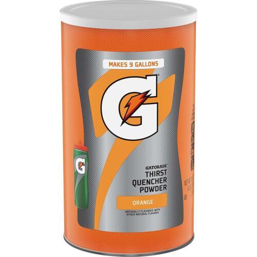 Gatorade Thirst Quencher Powder, Orange, 76.5oz Canister