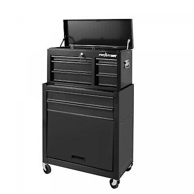 5 Drawer Tool Chest Box Cabinet Storage Combo Garage Mechani