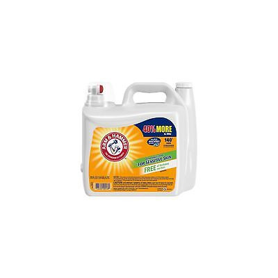 Arm & Hammer 2X Concentrated Liquid Laundry Detergent for Sensitive Skin 210 oz 2x Concentrated Liquid Detergent