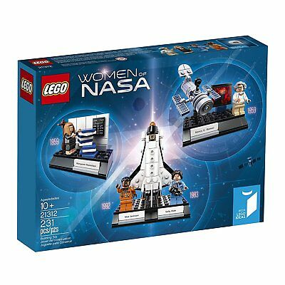 Lego Ideas Women Of Nasa 21312 With Mini Figures Space Shuttle Hubble Telescope