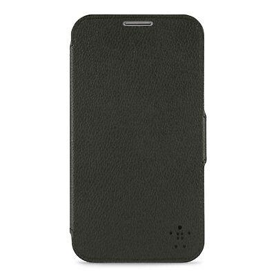 New OEM Belkin Snap Folio Black Case For Samsung Galaxy Note Snap Folio