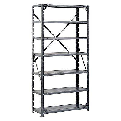 New Heavy Duty Metal Rack, 7-Shelf Steel Shelving Unit, Garage Storage Organizer