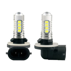 ARCTIC CAT 400 500 650 700 1000 HEADLIGHT LED LIGHT BULBS 90W SUPER WHITE 1600LM