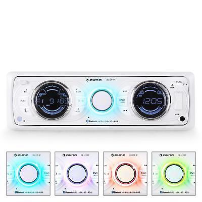 RADIO COCHE AUTORADIO REPRODUCTOR MP3 MEMORIA USB SD RDS RADIO AMPLI -B-STOCK  segunda mano  España