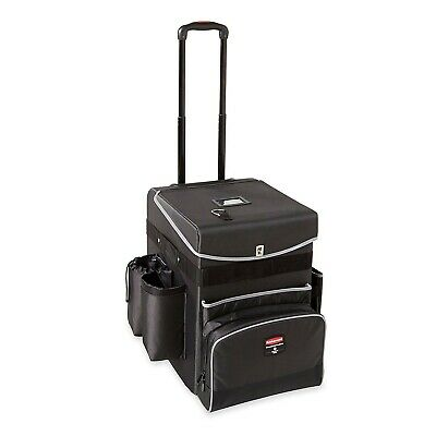 Rubbermaid Janitorial Custodian Maid Quick Cart - Medium - Housekeeping Janitor