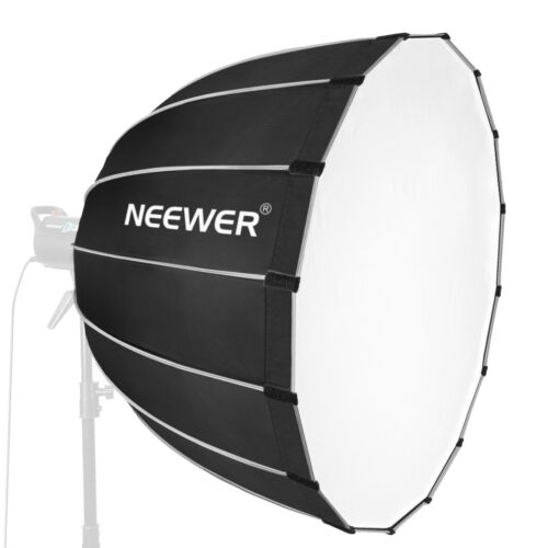 """Neewer 35"""" Photo Studio Dodecagon Softbox Diffuser with Grey Rim and Bowens"""