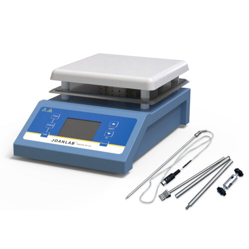 Magnetic Stirrer with Heating Plate Digital Hotplate Mixer w/ Timing Function 5L