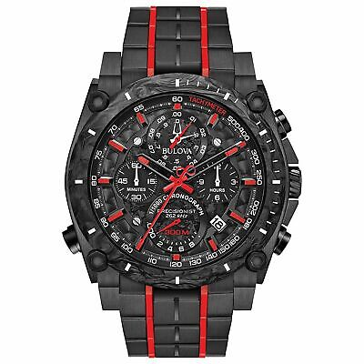 Bulova 98B313 Men's Precisionist Black Quartz Watch