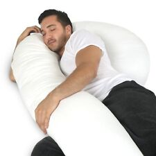 Full Body Pillow - C Shaped Bed Pillow for Men & Women by PharMeDoc