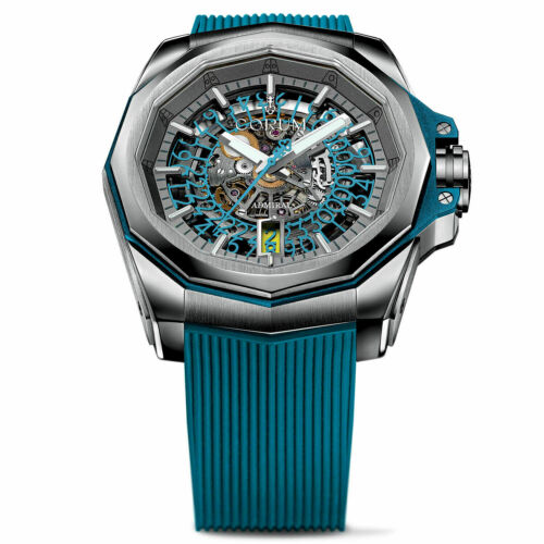 Corum Admiral 45 Squelette Watch Automatic Men's Skeleton Dial Watch A082/03702 - watch picture 1