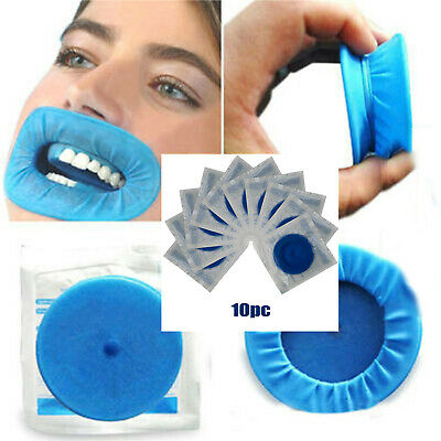 10pc Disposable Sterile Rubber Dam Dental Cheek Lip Retractor Opener Latex Otype